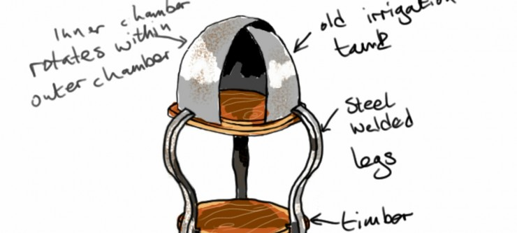 Concept Drawings Oyster Table