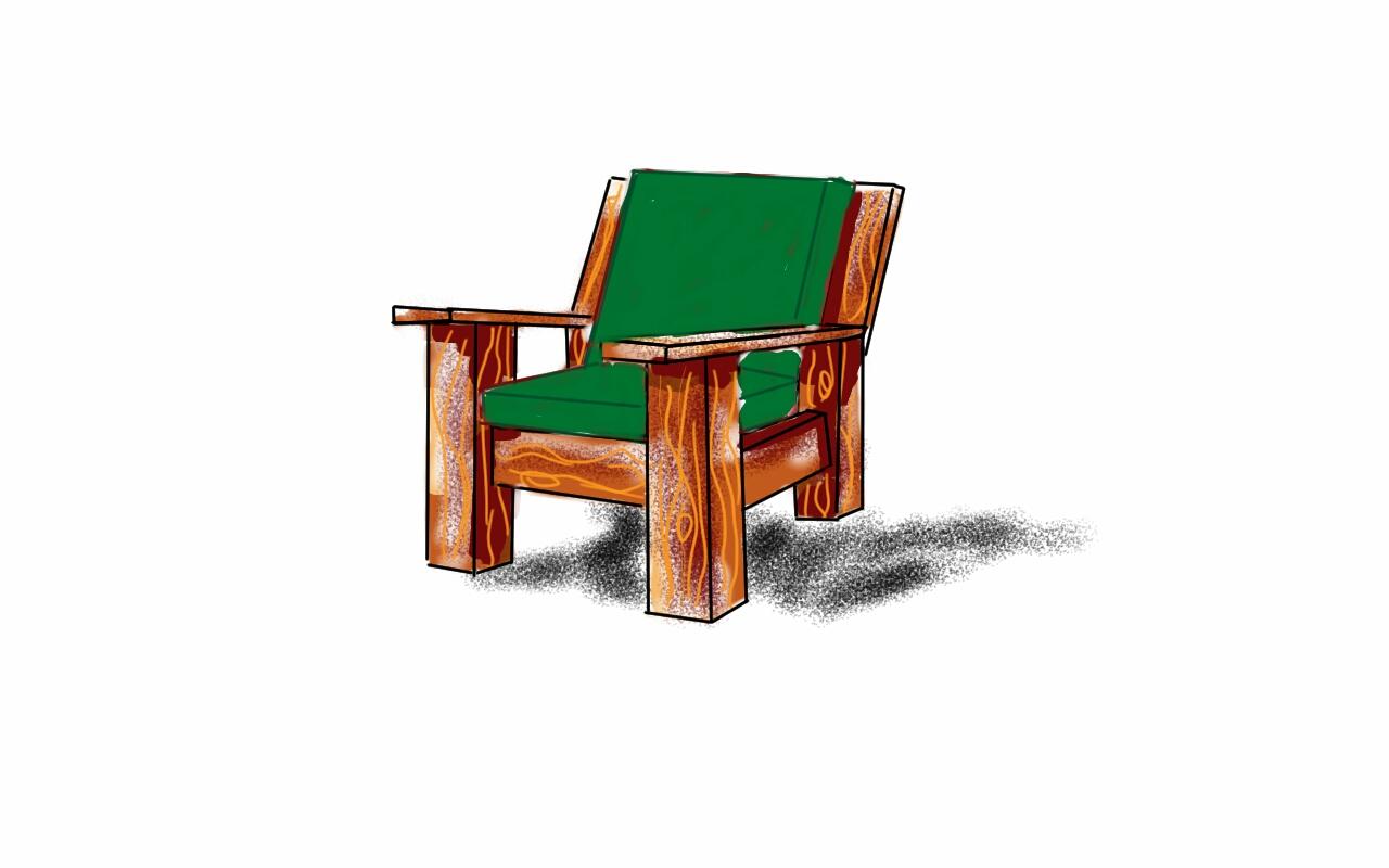 Flora's Fireside Chair